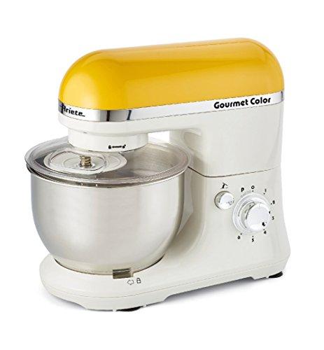 Ariete Gourmet Color 1000W 4L Bianco, Giallo robot da cucina