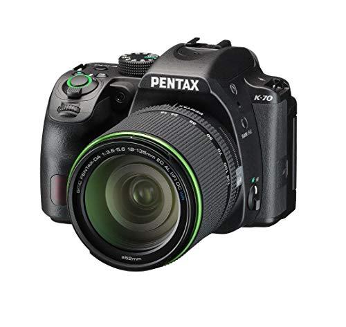 Pentax K-70 Reflex Numérique + Objectif DA 18-135mm WR - Noir