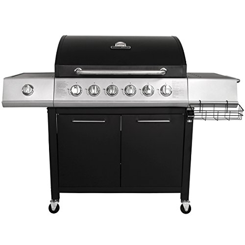 The Charles Bentley 7 Burner Premium Gas Bbq Steel Barbecue is a excellent choice for anyone looking for a massive BBQ without spending outrageous sums of money. Excellent quality, great value for money. Included everything you need.