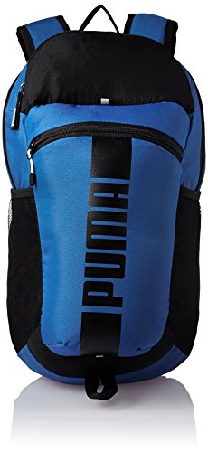 Puma Polyester 15 Ltrs True Blue and Puma Black Laptop Bag (7440103)