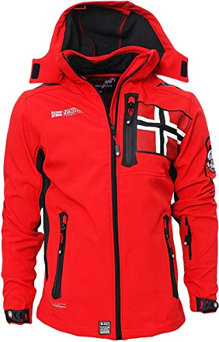 Geographical Norway -  Giacca - Giacca in Softshell - Uomo Rot Medium