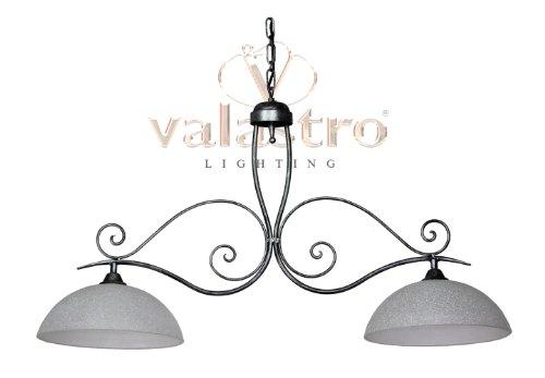 COD.26112_C72 – Illuminazione per interni lampada a sospensione Lampadario in ferro battuto...