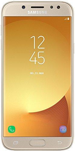 "Samsung Galaxy J5 (2017) SM-J530F SIM Doble 4G 16GB Oro - Smartphone (13,2 cm (5.2""), 720 x 1280 HD, 2 GB, 16 GB, 13 MP, Android), Oro [Versión importada]"