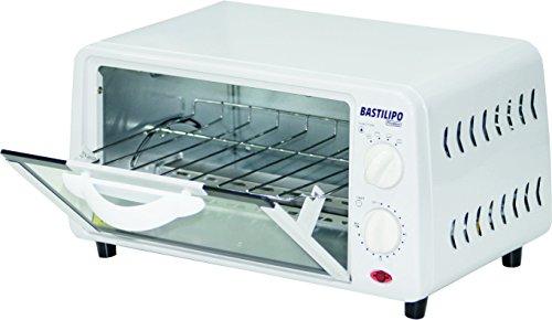 Bastilipo Pisa–Mini forno Tostapane con capacità di 9L, Griglia Auto Rimovibile, 800W,...