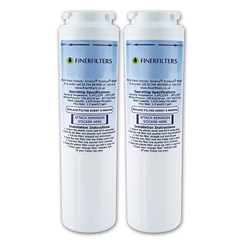 2X finerfilters compatibile Ultra Clarity Filtro acqua per bosch, Siemens, Neff, Miele 644845