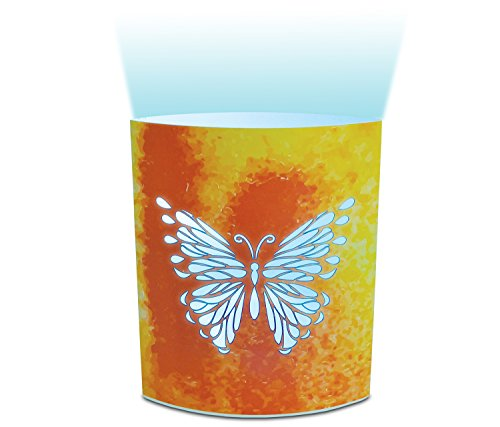 Puzzled mariposa LED lámparas decorativas–Insectos Tema–elegante regalo único y útil Souvenir–tema # 9654