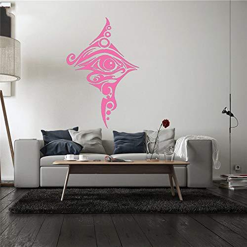 guijiumai Adesivo Murale Vinile Adesivo da Parete Rimovibile Room Design Egitto Eye Tattoo Camera da...