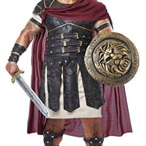 California Costumes 01761 - Disfraz de Gladiador Romano Para Hombre Talla Plus 4XL - 5XL EU
