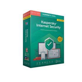 Kaspersky Internet Security 2019 Mise à jour (3 Postes / 1 An)|2019|3 appareils|1 AN|PC/Mac/Android|Téléchargement