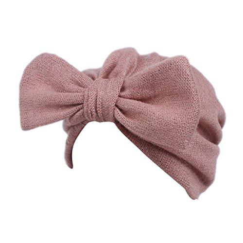 Lavany Cute Baby Headband Kids Girls Boho Hat Beanie Scarf Turban Head Wrap Cap