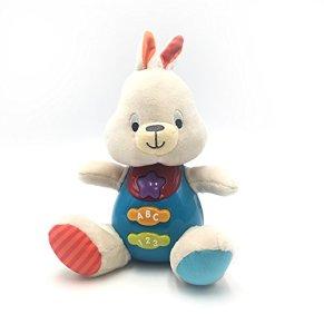 winfun- Bouncy Conejito, Canta y aprende Conmigo, Color Beige (CPA Toy Group 7300687)