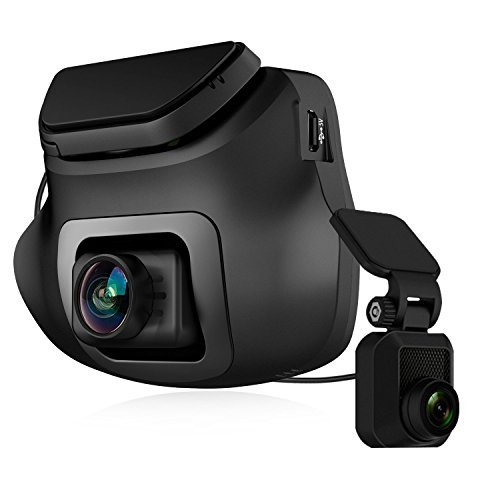 Z-EDGE Dual Dash Cam, Z Edge S3 Ultra Hd 1440p Front & 1080p Rear 150 Degree Wide Angle Dual Lens Car Camera, Front and Rear Dash Cam, Dashboard Camera with G Sensor, Wdr, 16gb Card Included