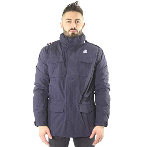 Giacca - Manfield Ripstop Marmotta - Depht Blue-Antracite - XXL