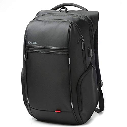 DTBG Nylon 15.6-Inches Waterproof with USB Charging Port Laptop Backpack