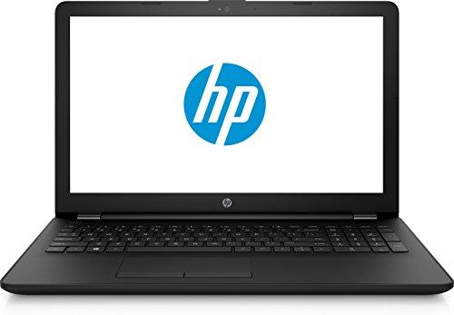 "HP Notebook 15-bs120ns - Ordenador portátil 15.6"" (Intel Core i3-6006, 8GB RAM, 256GB SSD, Windows 10), Color Negro - Teclado QWERTY Español"