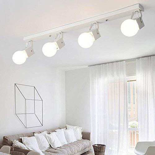 ZHYWJ Personalizzato Montaggio Fiori LED Colore Combi Nation Wayward Lampada da soffitto in Acrilico Vintage Il Ristorante Moderno ha commesso la plafoniera presepe,Bianco-80cm