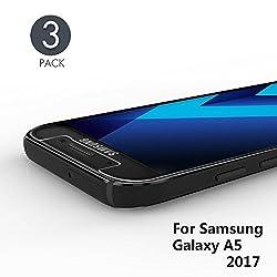 Kaufen aiMaKE Panzerglas Schutzfolie Für Samsung Galaxy A5 2017, 3 Stück Ultra-Klar 9H Härte Panzerglasfolie für Samsung Galaxy A5 2017 - HD Klar, Anti-Öl, Anti-Kratzen, Anti-Bläschen, 3D Touch Kompatibel