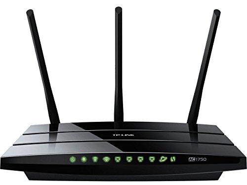 TP-Link AC1750 Archer C7 - Gaming router Gigabit inalámbrico (banda dual 1750 Mbps, WPS, puertos USB, seis antenas, IPv6)
