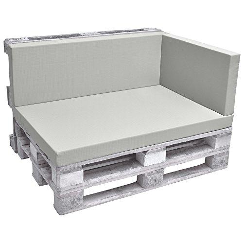 Beautissu Cuscino Laterale per divanetti con bancali Eco Pure 70x40x8cm per divani e panche da...