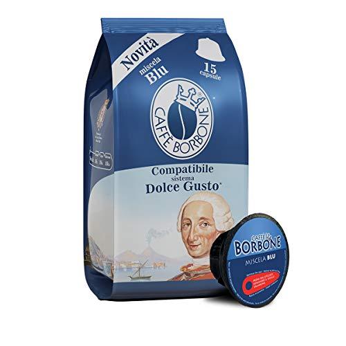 Caffè Borbone Compatibili Nescafè*Dolce Gusto* Miscela Blu - Confezione da 90 Capsule