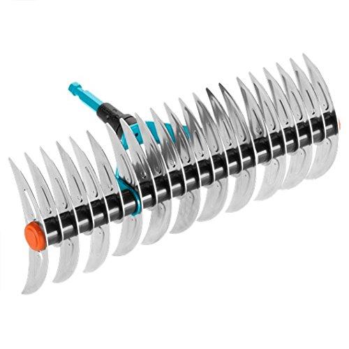 Rastrello aeratore GARDENA combisystem: Rastrello per eliminare muschio ed erba infeltrita, anche...
