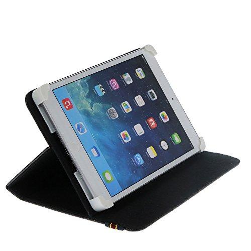 Danystar Custodia Cover Universale 7' per Tablets (Nero)