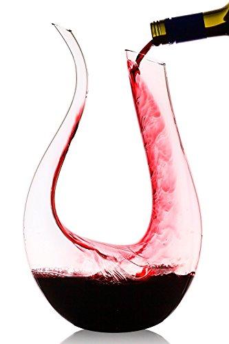 Decanter, Towinle 1200ml Caraffa di vetro Decanter Wine Aeratore Decanter Wine Decanter Caraffa