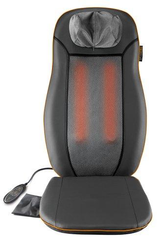 Medisana MCN Seduta massaggiante, per massaggio Shiatsu lenitivo, con diverse zone di massaggio per un perfetto relax - 88930