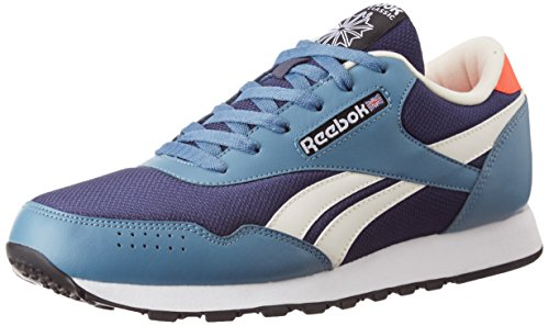Reebok Men's Classic Protonium Blue Ink, Slate and Atomic Red Sneakers - 10 UK/India (44.5 EU)(11 US)