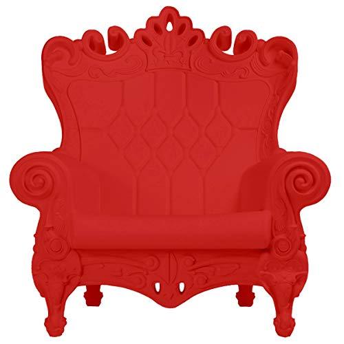 Design of Love - Slide Design - Queen of Love Poltrona Rosso fiamma