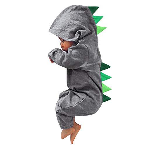 Ropa Bebe Dinosaurio Primavera Body de Manga Larga Bebé Regalo Original Unisexo Conjuntos Bebe Recien Nacidos para Fotografia Fiesta Disfraz Bebe Mono 0-24 Meses 2019 Mameluco Pijama Bebes POLP