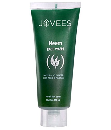 Jovees Neem Face Wash for Acne and Pimples - 120ml