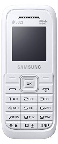 Samsung Guru FM Plus (SM-B110E/D, White)