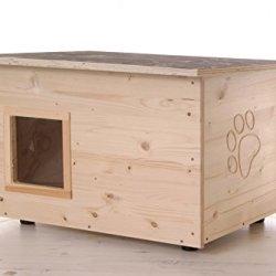 katzeninfo24.de Katzenhaus – Katzenhütte mit Heizung, Boden und Wände wärmegedämmt