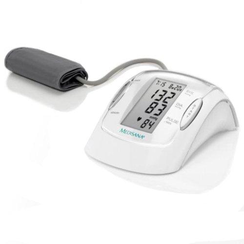 Medisana MTP Sfigmomanometro da Braccio Indicatore aritmie, 99 spazi di memoria per ciascuno dei 2...