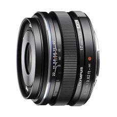Olympus M.Zuiko Digital 17mm f1.8 MILC - Objetivo (MILC, 9/6, Objetivo estándar, 0,25 m, Micro Cuatro Tercios, 1,7 cm)