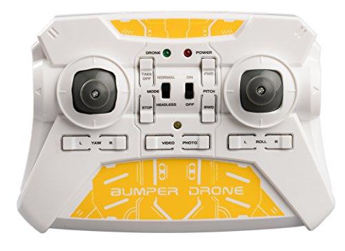 SilverLit Bumper Drone Incassable avec caméra HD - Couleur Jaune 25