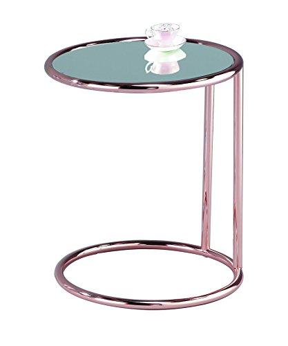 ASPECT Aspetto Mia tavolino Tondo/tavolino da Salotto/tavolino/Divano da Tavolo, Metallo,...