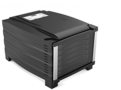 RGV ELT 800W Essicatore Digitale con 6 Piani, Nero
