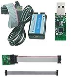 CC Debugger + Adapterkabel + CC2531 ZigBee USB-Sick komplett Set