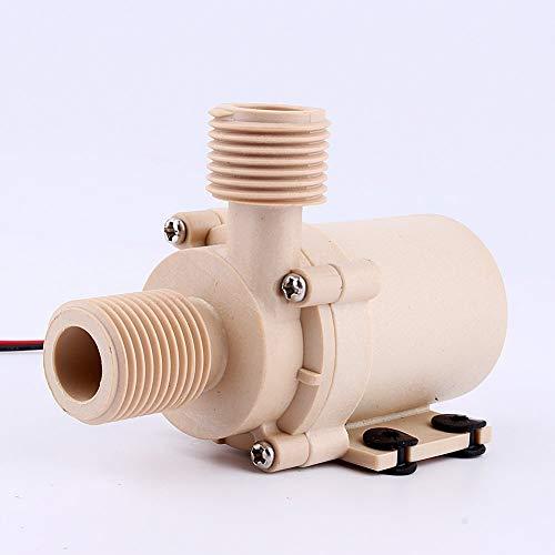 Yosoo Pompe solaire de circulation d'eau chaude DC 12 V Pompe à Eau Moteur Sans Brosse de 3 m 5 m à faible bruit