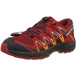 Salomon XA Pro 3D J, Zapatillas de Deporte Unisex Niños, Rojo (Dahlia/Barbados Cherry/Spectra Yellow), 38 EU