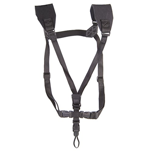 Neotech 2501272 Soft Harness - Adjustable Saxophone Harness, X-Long, Loop Attachment