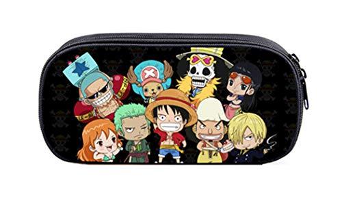Cosstars One Piece Anime Astuccio Borsa di Cancelleria Cassa di Matita Sacchetto Borsello /7