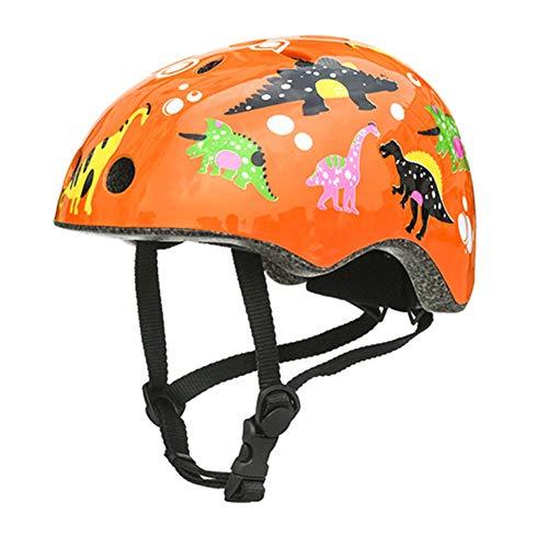 HLeoz Protezione di Casco Bambini, Casco da Bici per Bambini per Pattini a Rotella Skateboard...