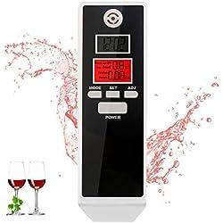 bedee LCD Digitale Etilometro Portatile Professionale Breath Alcohol Tester