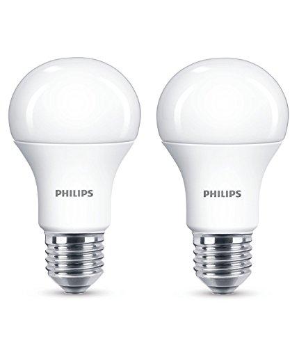 Philips Lighting 929001234561 Philips Lampadina LED, Warm White Goccia, Attacco E27, 13 W...