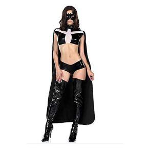 NO BRAND De Halloween Traje del funcionamiento del traje de Cosplay de Halloween Batman Superman Cloaked del partido del…