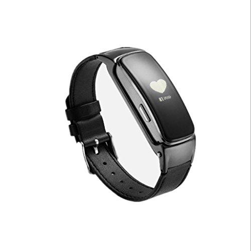 Telefono Bluetooth Smart Bracciale Sportivo contapassi frequenza cardiaca, la Pressione sanguigna...