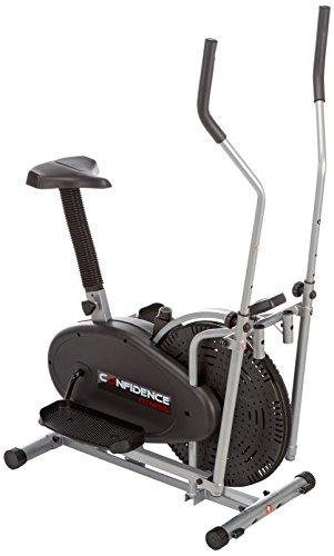 Confidence - Bicicleta elíptica 2 en 1